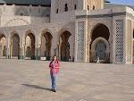 mr Raspe op vakantie in Marokko