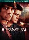 Supernatural SEason 3 DVD Cover