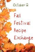fall festival button