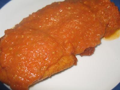 Filete de marrajo en tomate