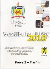 VESTIBULAR UFSC 2010