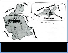 Peta Desa Peradong