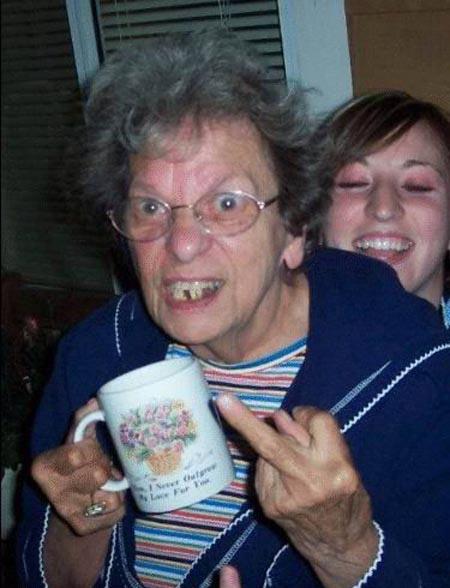 Granny Flicks Off An epic sci fi adventure set