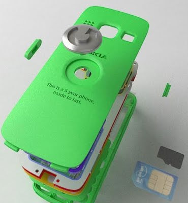 Telefono Reciclado de Nokia