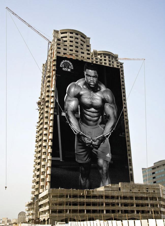 Рекламная кампания фитнес центра