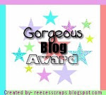 - Gorgeous Blog Award - Thank You, Lisa!