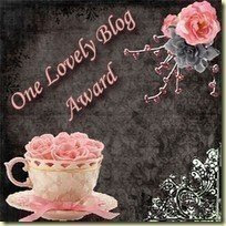 Lovely Blog Award from Emka