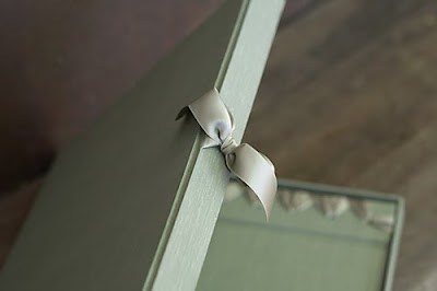 Cypress Wedding Album Sage Green