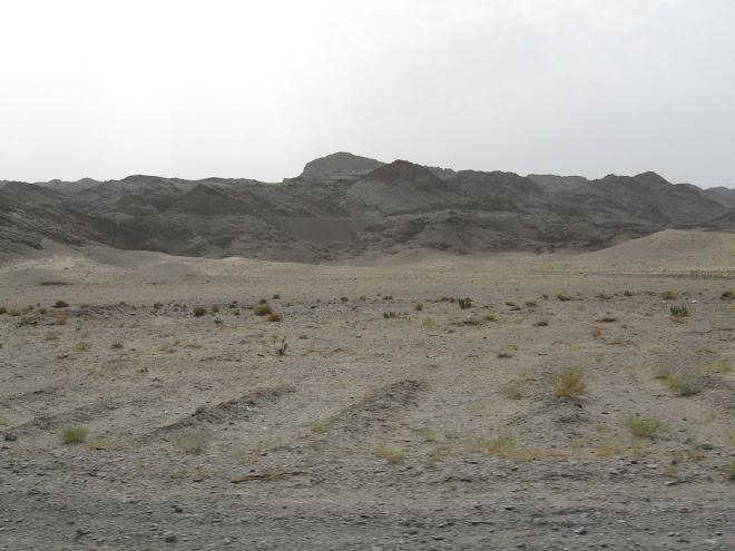 Iranian desert Landscape