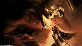 demon monster beast wallpaper