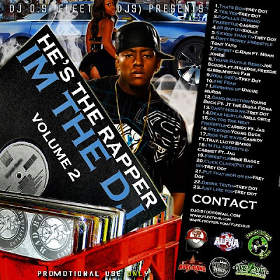 [The Fleet Djs] New Post : DJ O.S.  He's The Rapper I'm the DJ Vol. 2