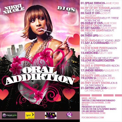 [The Fleet Djs] New Post : NIKKI NICOLE & DJ O.S. Oral  Addiktion 3