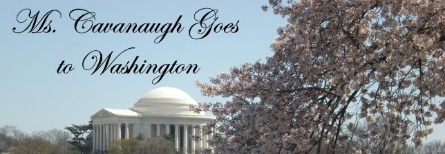 Ms. Cavanaugh Goes to Washington