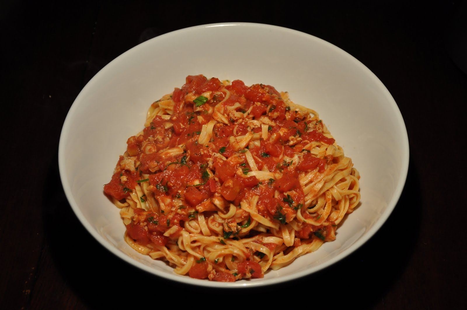 Slice of Rice: Linguine with Red Clam Sauce