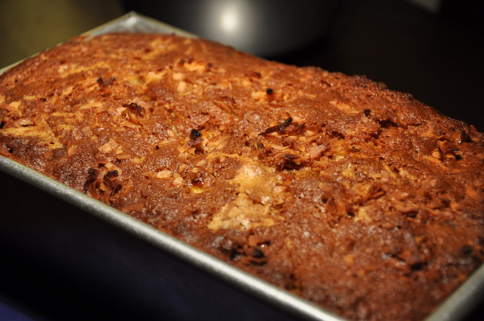 Slice of Rice: Banana Bread with Coconut and Chocolate Chips