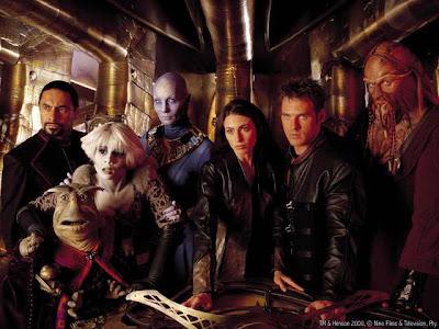 The cast of Farscape