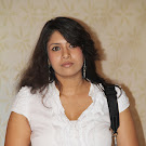 Sangavi in White Dress  Cute Photos