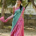 Shreya Dhanwantri  in Half Saree   Cute Photos