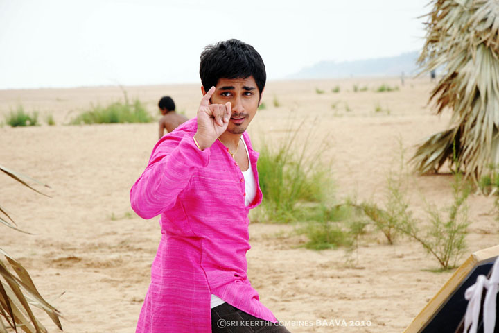 Siddharth Most Stylish Traditional Look In Bava Movie Stills