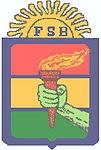 ESCUDO DE FALANGE SOCIALISTA BOLIVIANA