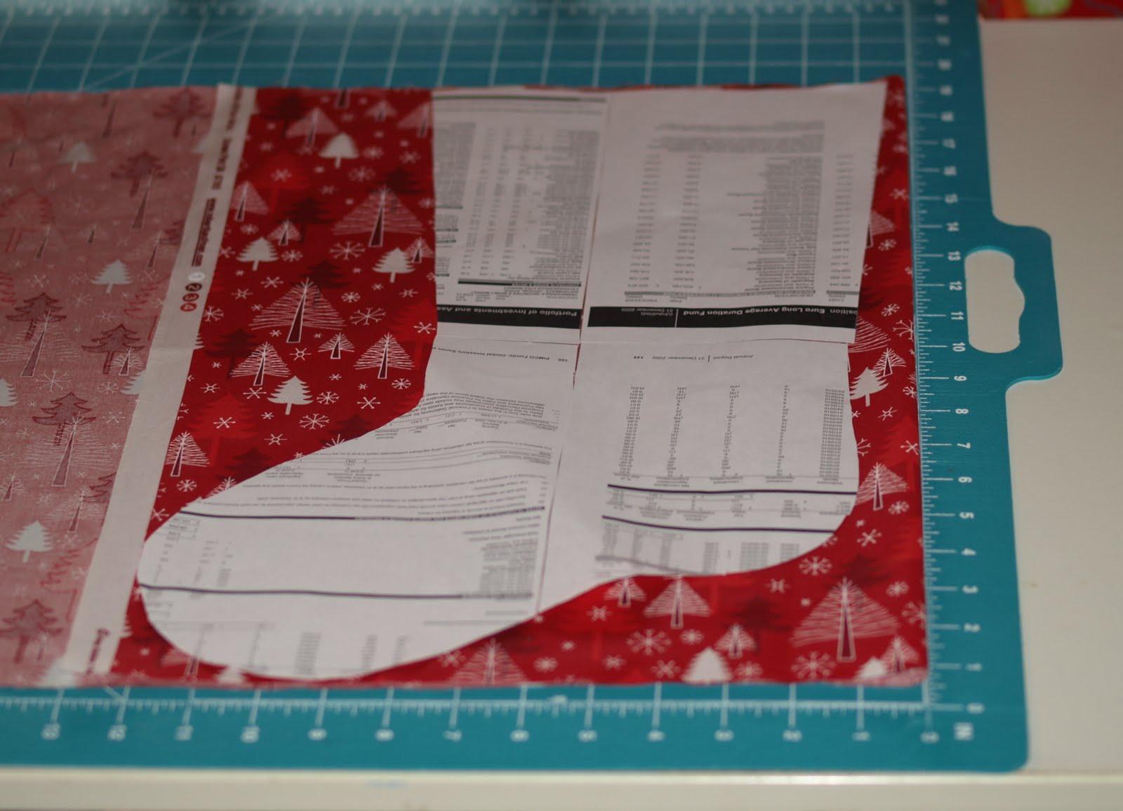 Christmas Stocking Tutorial Fabricworm