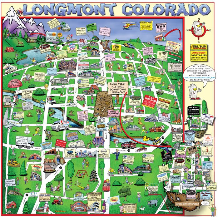 SAW Toons Longmonts 2010 Cartoon Map Is Here