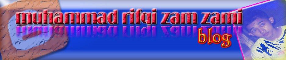 muhammad rifqi zam zami's blog