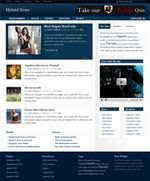 Download Hybrid News Wordpress Theme