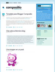 Compositio Blogger Template