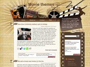 Movie Theater Wordpress Theme