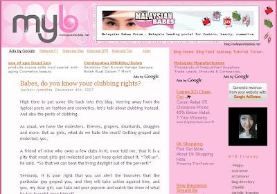 Fashion Shopping Cosmetics Malaysian babes