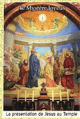 La presentation de Jesus au Temple