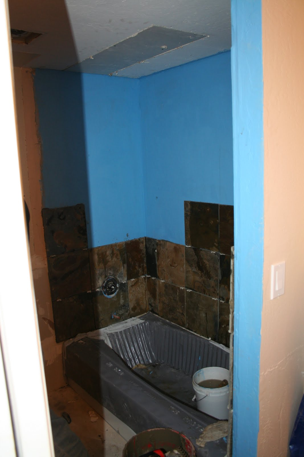 Belyk Restroom Remodel Project: November 2009