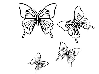 Tiger swallowtail butterfly coloring page - photo#15