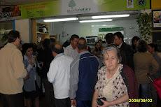 Tienda en plaza de abastos de Guadanatura