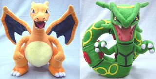 Pokemon Plush Charizard Rayquaza PokemonJP