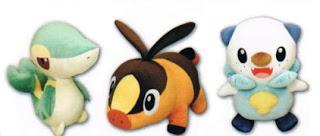 Pokemon BW Plush Real Size Series PokeCenJP