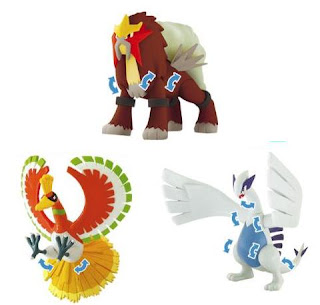 Pokemon Pose Figure Johto region TTA