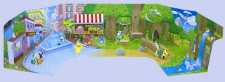 Pokemon World Spring Town and Summer Forest MediaFactory