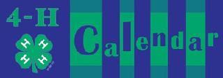 Auglaize Co 4H Calendar
