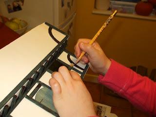 Making a tudor house school project