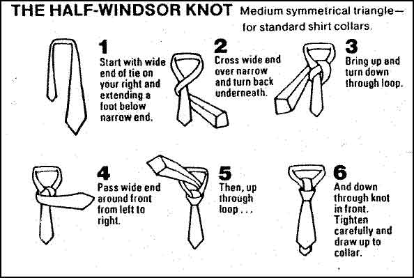 How to tie a tie simple