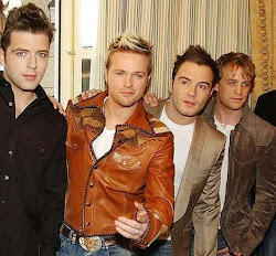 Mark Feehily and his bandmates