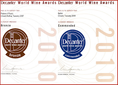decanter world wine awards cantine fratelli bellini