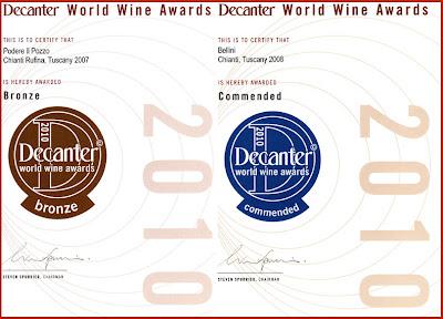 decanter world wine awards cantine fratelli bellini