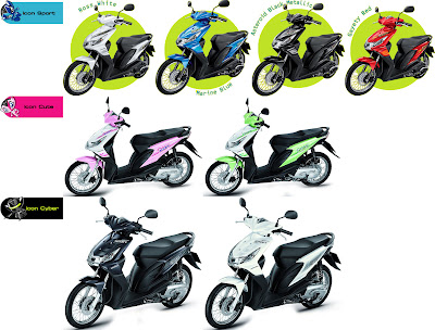 modifikasi honda beat, memilih warna honda beat