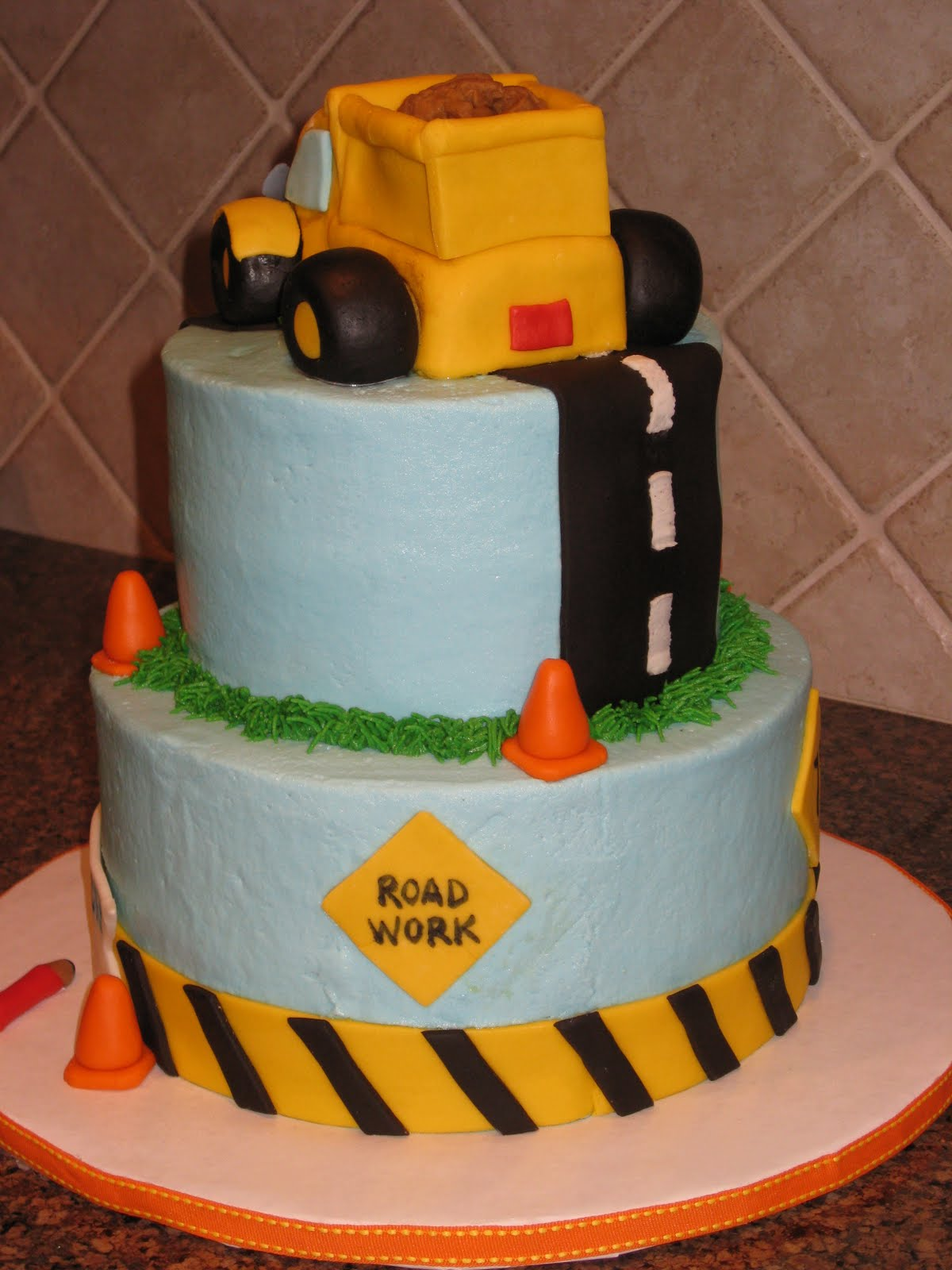 shannon u0026 39 s creative cakes  construction pals first birthday