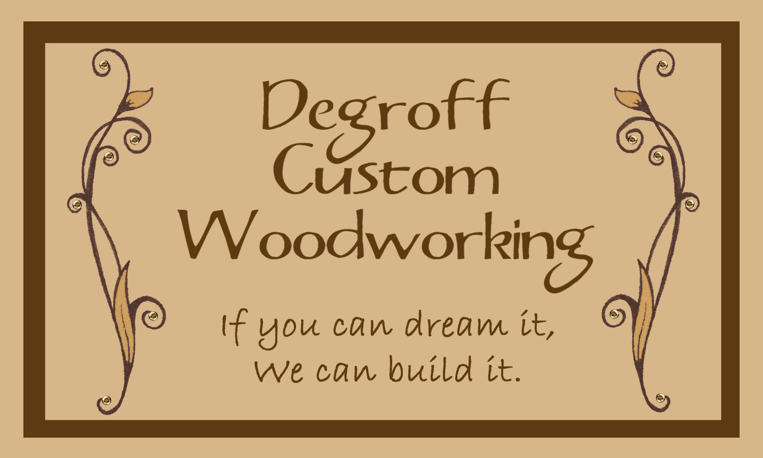 DeGroff Custom Woodworking