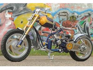 MODIF YAMAHA MIO XTREME NAKED CHOPPER