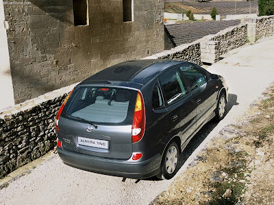 New Nissan Almera Tino Family Car. The N16 Almera offered great improvements